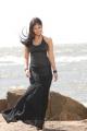 Actress Nayanthara Stills in Hot Black Dress