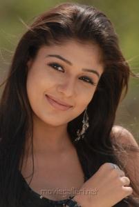 Actress Nayantara in Black Dress Hot Stills