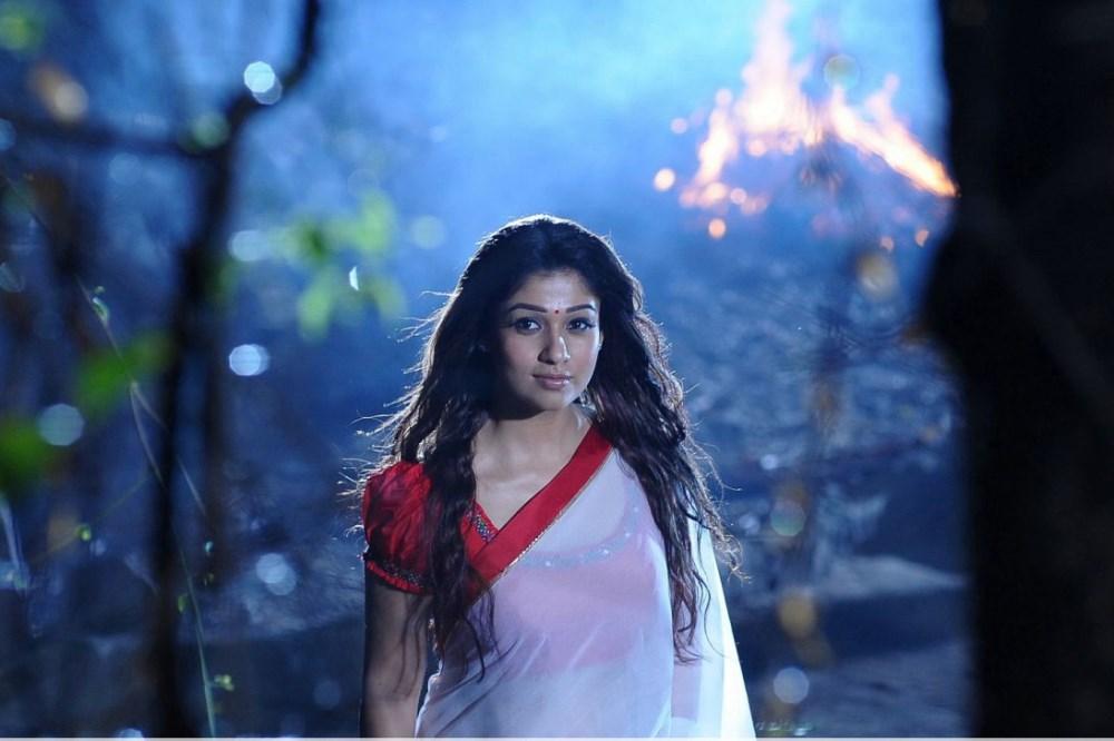 Picture 557834   Nayanthara Hot Saree Images in Krishnam ...