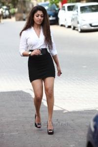 Aarambam Movie Actress Nayanthara Hot Spicy Stills