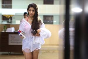 Aarambam Heroine Nayanthara Hot Spicy Stills