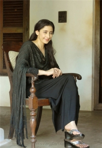 Actress Manisha Koirala in Lady Tiger Movie Stills