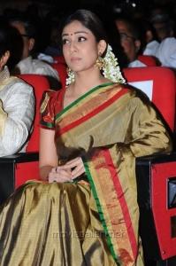Nayanthara in Silk Saree Stills
