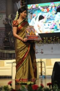 Nayanthara Traditional Saree Stills