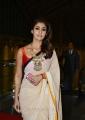 SIIMA 2016 Actress Nayanthara Cute Saree Pics