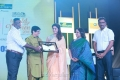 Actress Nayanthara got Excellence in Entertainment Field Award at The Hindu World of Women 2018