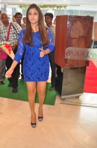 Actress Nayanthara Launches Jos Alukkas Platinum Jewellery Collection Stills