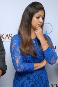 Actress Nayantara at Hyderabad Jos Alukkas Platinum Jewellery Collection Launch