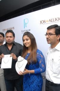 John Alukka, Nayanthara at Jos Alukkas Platinum Jewellery Collection Launch
