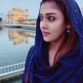 Actress Nayanthara Vignesh Shivan Photos @ Golden Temple Amritsar