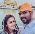 Nayanthara Vignesh Shivan Recent Photos @ Golden Temple Amritsar