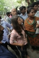 Nazriya Nazim at Chennai City Police Commissioner Office Stills