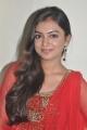 Tamil Actress Nazriya Nazim Cute in Red Salwar Kameez
