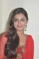 Actress Nazriya Nazim Cute Stills in Red Salwar Kameez