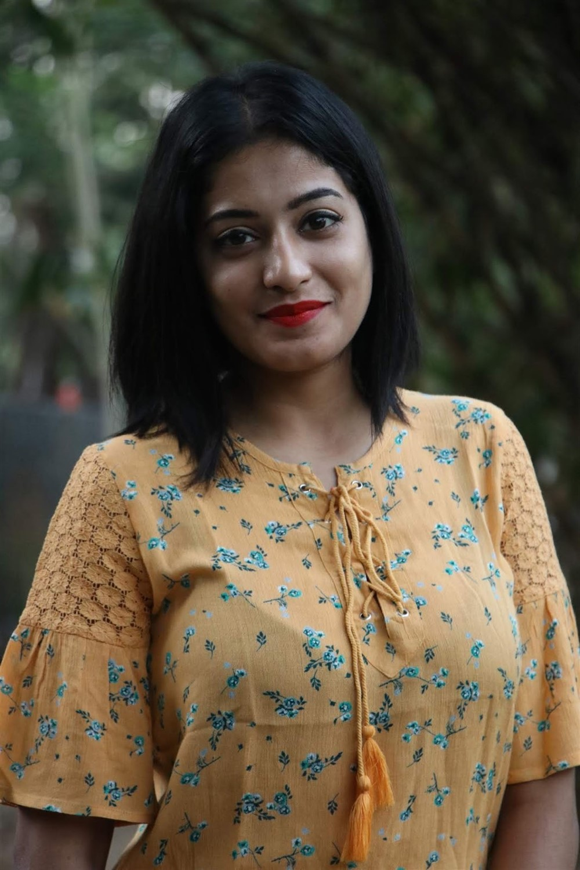 Anjali Nair @ Nedunalvaadai Success Meet Stills