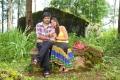 Yaswin, Nikitha Narayan in Nee Naan Mattum Movie Stills