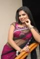 Actress Neelam Shetty Hot in Transparent Saree Stills