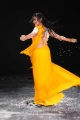 Neelam Upadhyaya Hot Yellow Saree Images in Action 3D Movie