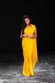 Neelam Upadhyay Hot Yellow Saree Images in Action 3D Movie