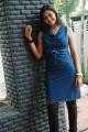 Tamil TV Serial Actress Neelima Rani Hot Photos in Blue Dress