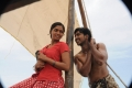 Sunaina, Vishnu in Neerparavai Movie New Stills