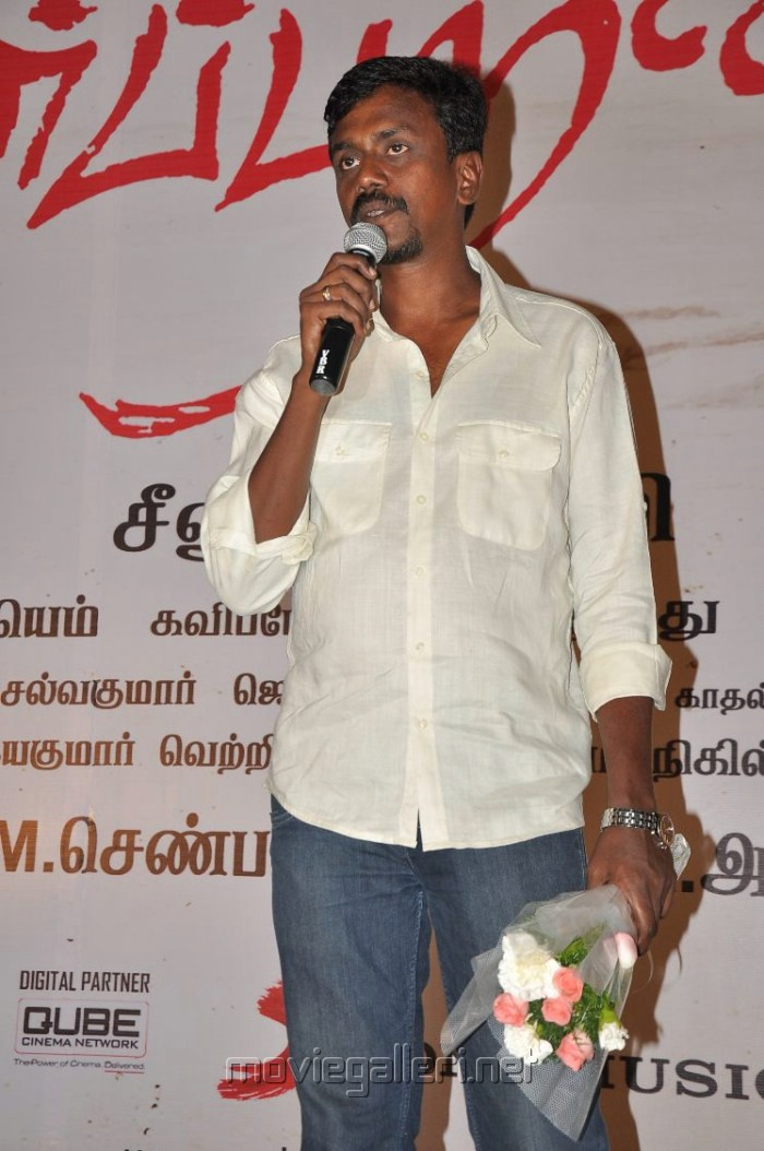 Cameraman Balasubramaniam at Neerparavai Movie Audio Launch Stills