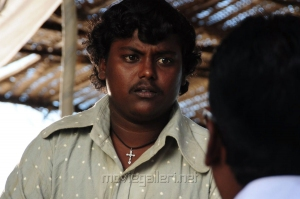 Actor Pandi in Neerparavai Latest Photos