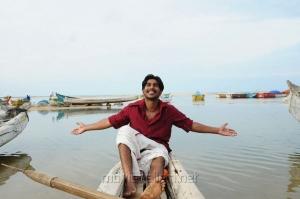 Actor Vishnu in Neerparavai Latest Photos