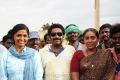 Sunaina,Seenu Ramasamy,Saranya at Neerparavai On Location Stills