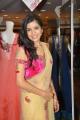 Model Annie in Designer Saree at Neerus Elite Kohinoor Collection Launch Stills