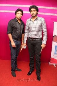 Vikram Prabhu at Neethane En Ponvasantham Audio Launch Stills