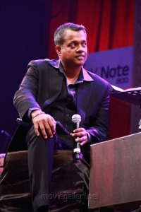 Director Gautham Menon at Neethane En Ponvasantham Audio Launch Function Stills
