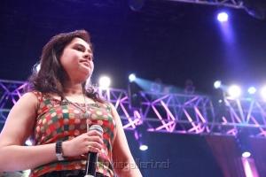 Singer Sunidhi Chauhan at Neethane En Ponvasantham Audio Launch Stills