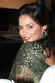 Actress Neetu Chandra Green Saree Photos