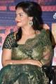 Actress Neetu Chandra in Green Saree @  Vaigai Express Trailer Launch