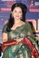 Actress Neetu Chandra Green Saree @  Vaigai Express Trailer Launch