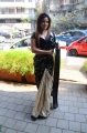 Actress Neetu Chandra Hot Black Saree Pics