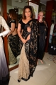 Actress Neetu Chandra Black Saree Hot Pics