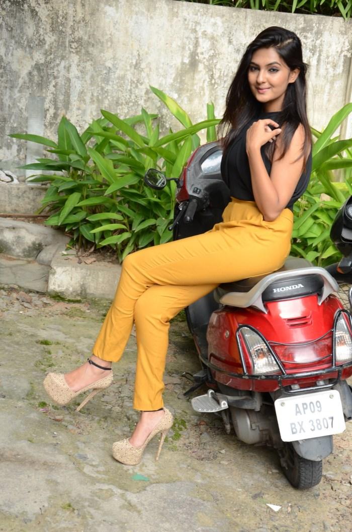 Actress Neha Deshpande Photos @ The Bills Movie Launch