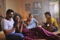 Rohith, Megha Nair, Meera Krishnan, L.Raja in Nellai Santhippu Movie Gallery