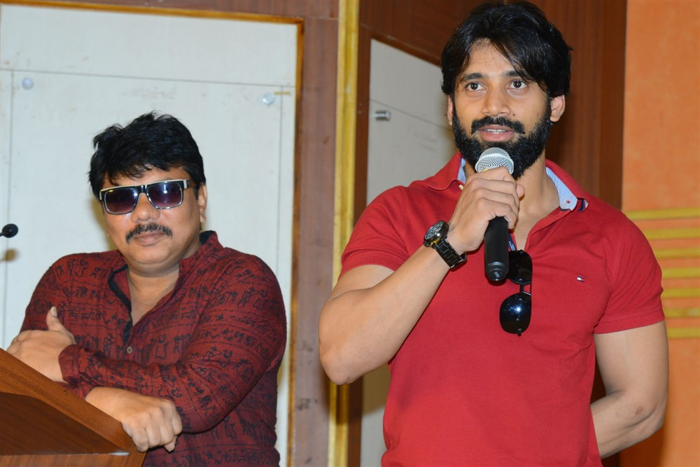 Nene Kedi No 1 Movie Press Meet Stills