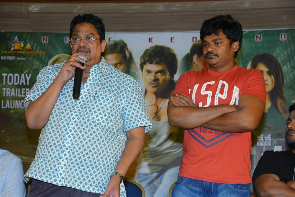 C Kalyan, Shakalaka Shankar @ Nene Kedi No 1 Movie Press Meet Stills