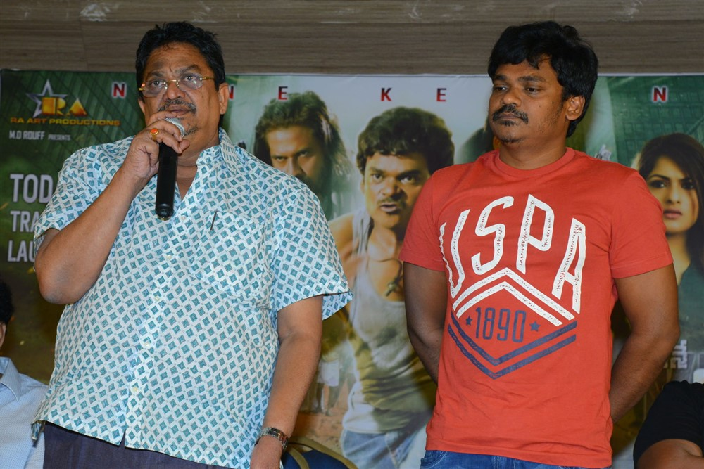 C Kalyan, Shakalaka Shankar @ Nene Kedi No 1 Movie Press Meet Stills