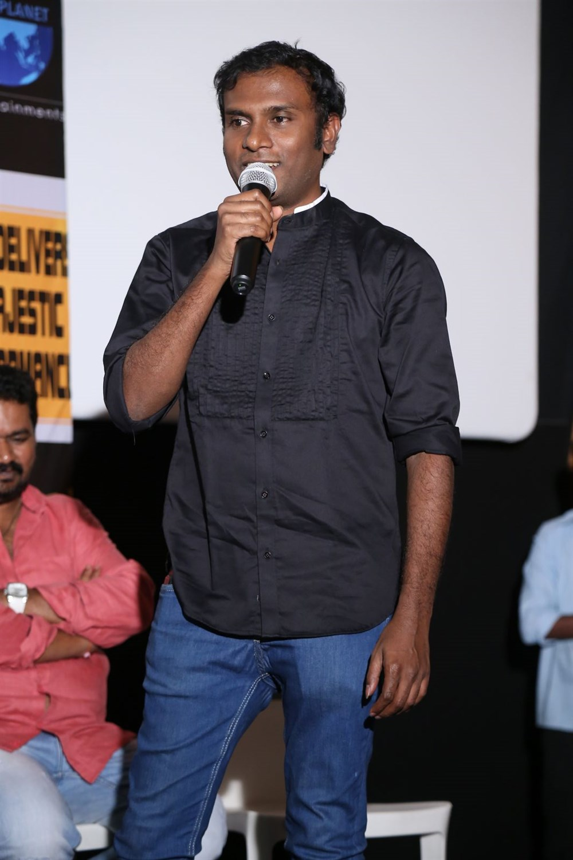 Music Director Anup Rubens @ Nene Raju Nene Mantri Movie Success Meet Photos