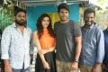Mehreen, Sundeep, Suseenthiran @ Nenjil Thunivirundhal Movie Shooting Spot Stills