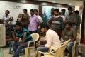 Suseenthiran, Sandeep @ Nenjil Thunivirundhal Movie Shooting Spot Stills