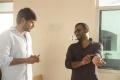 Sundeep, Suseenthiran @ Nenjil Thunivirundhal Movie Shooting Spot Stills