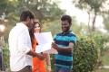 Sundeep, Mehreen Pirzada @ Suseenthiran @ Nenjil Thunivirundhal Movie Shooting Spot Stills