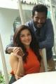 Mehreen Pirzada, Suseenthiran @ Nenjil Thunivirundhal Movie Shooting Spot Stills