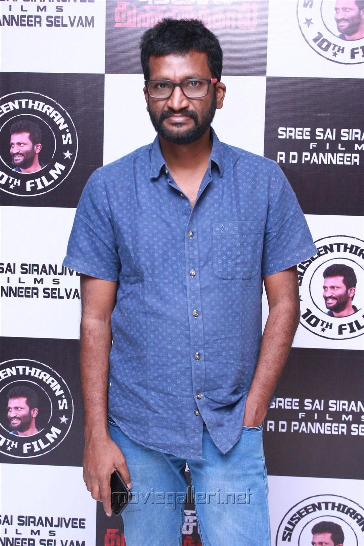 Director Suseenthiran @ Nenjil Thunivirunthal Audio Launch Stills